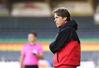 20191022 – OOSTENDE , BELGIUM : PSG's head coach Stephane Roche  pictured during a soccer game between Club Brugge KV and Paris Saint-Germain ( PSG )  on the third matchday of the UEFA Youth League – Champions League season 2019-2020 , thuesday  22 th October 2019 at the Versluys Arena in Oostende  , Belgium  .  PHOTO SPORTPIX.BE | DAVID CATRY
