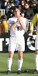 16 December 2007: Wake Forest's Sam Cronin. The Wake Forest University Demon Deacons defeated the Ohio State Buckeyes 2-1 at SAS Stadium in Cary, North Carolina in the NCAA Division I Mens College Cup championship game.