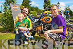 KERRY BIKERS: Having a great time at the Ireland Bike Fest in Killarney on Sunday l-r: Fionn, Killian and Dylan Sheehan, Killarney.