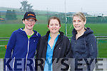 Karen Quirke, Brigid Bergen and Andrea Browne at the Brosna 4km run on Sunday