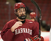 Devin Tringale (Harvard - 22) - The Harvard University Crimson practiced at the United Center on Wednesday, April 5, 2017, in Chicago, Illinois.