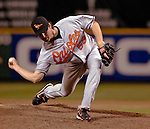 19 May 2007: Baltimore Orioles sidearm pitcher Chad Bradford in action against the Washington Nationals at RFK Stadium in Washington, DC. The Orioles defeated the Nationals 3-2 in the second game of the 3-game interleague series...Mandatory Photo Credit: Ed Wolfstein Photo