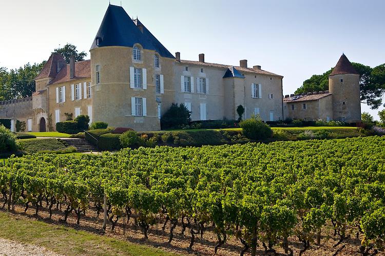 Chateau d'Yquem, Sauternes, France.