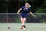 CARY, NC - JUNE 22: Abby Dahlkemper. The North Carolina Courage held a training session on June 22, 2017, at WakeMed Soccer Park Field 7 in Cary, NC.
