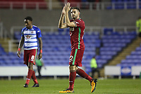 Angel Rangel of Swansea City after the final whistle of the Carabao Cup Third Round match between Reading and Swansea City at Madejski Stadium, Reading, England, UK. Tuesday 19 September 2017