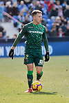 Real Betis Balompie's Francisco Guerrero during La Liga match between CD Leganes and Real Betis Balompie at Butarque Stadium in Madrid, Spain. February 10, 2019. (ALTERPHOTOS/A. Perez Meca)