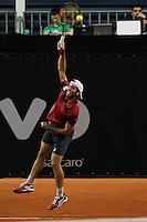SAO PAULO,SP, 25.11.2015 - TENIS-ATP - Guilherme Clezar durante partida contra Marco Cecchinato, válida pelo ATP Challenger Tour Finals, realizado no Esporte Clube Pinheiros zona sul da cidade de São Paulo, nesta quarta-feira, (25). (Foto: Douglas Pingituro/Brazil Photo Press)
