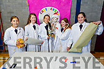 Students of the Presentation Secondary school, Casleisland junior winners with their Castaway a Breakthrough in Fashion idea.<br /> L to r: Emily Walsh, Colene O'Callaghan, Aine Broderick, Dr Albert, Ella Fitzgerald and Charlie O'Keeffe.