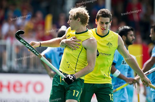 28/06/2015<br /> HWL Semi Final Antwerp Belgium 2015<br /> Australia v India Men<br /> <br /> Photo: Grant Treeby