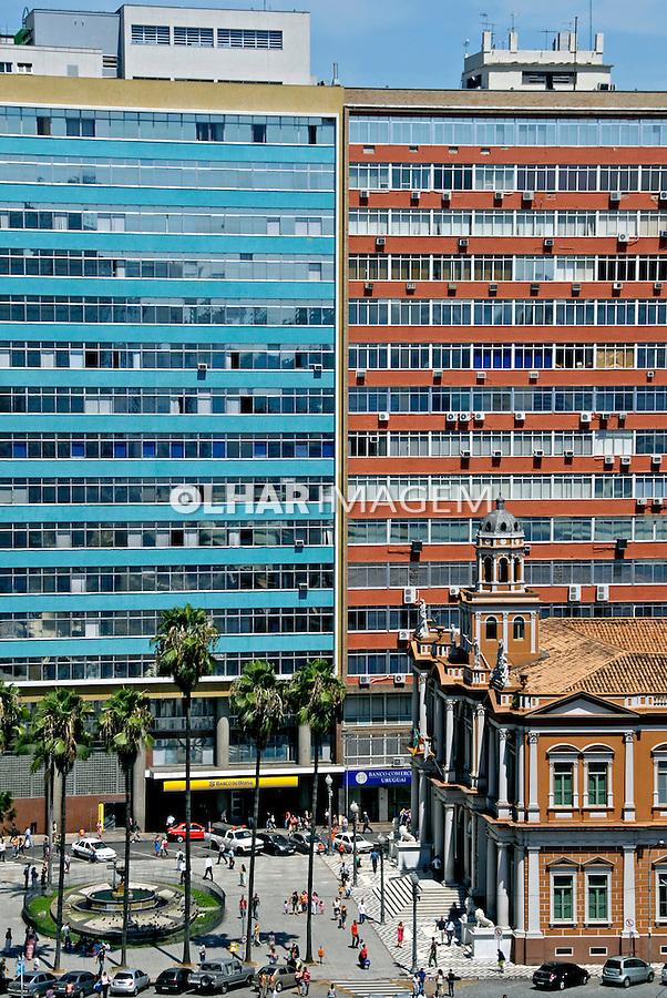 Edifício da Antiga prefeitura, cidade de Porto Alegre. Rio Grande do Sul. 2008. Foto de Juca Martins.