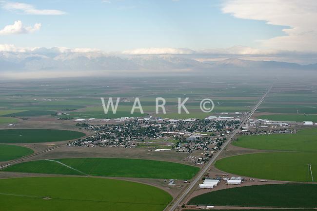 Center, Colorado.  San Luis Valley. July 2014. 86069