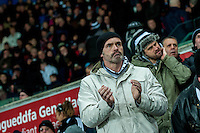 swansea fans  during the Barclays Premier League match between Swansea City and Sunderland played at the Liberty Stadium, Swansea  on  January the 13th 2016