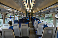 Very quiet London train during Coronavirus outbreak<br /> <br /> <br /> CAP/JOR<br /> ©JOR/Capital Pictures
