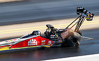Sep 16, 2017; Concord, NC, USA; NHRA top fuel driver Doug Kalitta during qualifying for the Carolina Nationals at zMax Dragway. Mandatory Credit: Mark J. Rebilas-USA TODAY Sports