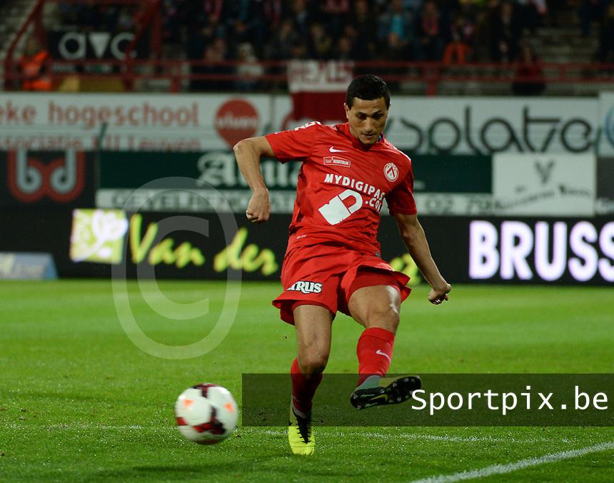 KV Kortrijk - Racing Genk : Mustapha Oussalah<br /> foto VDB / BART VANDENBROUCKE