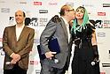 John V. Roos, Hiroshi Mizohata and Lady Gaga, Jun 23, 2011 : Lady Gaga, Tokyo, Japan, June 23, 2011 : Commissioner Japan Tourism Agency , Hiroshi Mizohata (C), and Lady Gaga(R) attend a press conference in Tokyo, Japan, on June 23, 2011.