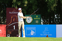 Tom Murray (ENG) during the first round of the Ras Al Khaimah Challenge Tour Grand Final played at Al Hamra Golf Club, Ras Al Khaimah, UAE. 31/10/2018<br />