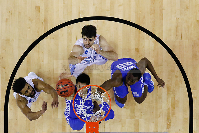 during the 2017 NCAA Men's Basketball Tournament South Regional Elite 8 at FedExForum in Memphis, TN on Friday March 24, 2017. Photo by Michael Reaves   Staff