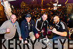 Frank Wallace, chairman Joe Wallace, Captain Jerry Wallace and Nicholas O Sullivan at the Home coming in Ardfert of the Ardfert Team after winning the intermediate  All-Ireland club football final at Croke Park on Sunday