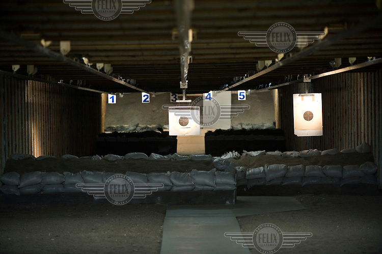 Kleinkaliberschuetzen Berlin, Small Calibre Shooting Club Berlin. There are more than 15,000 gun clubs in Germany with around 1.5 million members.