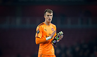 Goalkeeper Matt Macey of Arsenal during the UEFA Europa League group stage match between Arsenal and FC Red Star Belgrade at the Emirates Stadium, London, England on 2 November 2017. Photo by PRiME Media Images.
