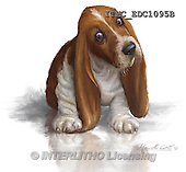 Marcello, REALISTIC ANIMALS, REALISTISCHE TIERE, ANIMALES REALISTICOS, paintings+++++,ITMCEDC1095B,#A# ,dogs,puppies