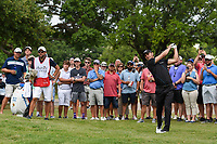 Martin Kaymer (GER) hits his second shot on 1 during round 4 of the 2019 Charles Schwab Challenge, Colonial Country Club, Ft. Worth, Texas,  USA. 5/26/2019.<br /> Picture: Golffile | Ken Murray<br /> <br /> All photo usage must carry mandatory copyright credit (© Golffile | Ken Murray)