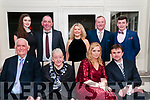 North Kerry Harriers Ball: attending the North Kerry Harriers Hunt Ball at the Listowel Arms Hotel on Saturday night last were in front Sean & Cait O'Halloran & katie & Vadyn Zubeyko. Back : Tamara Goggin, Michael O'Halloran, Mary & Noel Stack & Oliver O'Halloran
