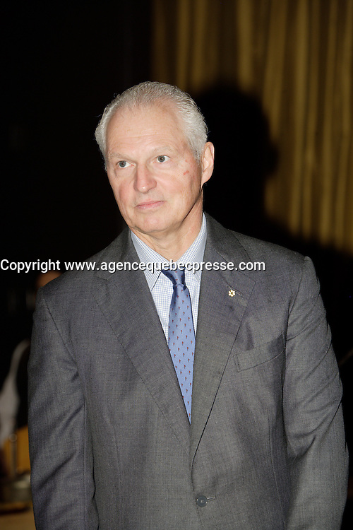 Montreal (Qc) CANADA - October 17 2011 - Andre Desmarais, President and Co-CEO, Power Corporation of Canada