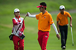 Tirto Tamardi of Indonesia in action on day 3 of the 9th Faldo Series Asia Grand Final 2014 golf tournament on March 20, 2015 at Faldo course in Mid Valley Golf Club in Shenzhen, China. Photo by Xaume Olleros / Power Sport Images