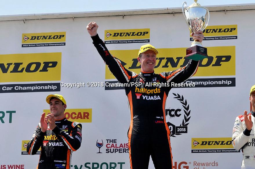 2018 British Touring Car Championship round 3 at Thruxton