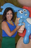 SAO PAULO, 26 DE FEVEREIRO DE 2013. - EXPOSICAO MONICA 50 ANOS - Monica Spada Souza, inspiracao para o personagem de Mauricio de Souza em exposicao comemorando 50 anos da Monica, no Memorial da America Latina, na Barra Funda, regiao oeste da capital, na tarde desta terca feira, 26. (FOTO: ALEXANDRE MOREIRA / BRAZIL PHOTO PRESS)