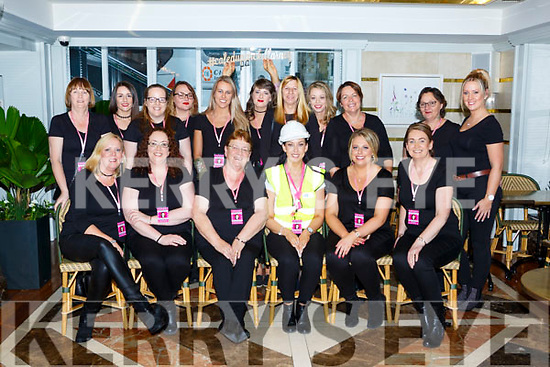 Sinead Long, Knocknagoshel celebrated her hen party with her family and friends in the Plaza Hotel on Saturday