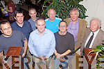 Twitchers Night Out - Members of Kerry Birdwatchers Group pictured enjoying their Xmas Party held in O'Donnell's of Mounthawk on Saturday night. Front l/r Mike O'Keefe, Edward Carey, Michael O'Leary and Kerry Radio's Frank King, back l/r Seamus Enright, Maurice Hanafin, Davey Farrer, Alan Mee and Peter McDermot.Names correct............................................................................................................................................................................................................................................................................................................ ............