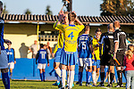 2015-11-01 / Voetbal / seizoen 2015-2016 / KSV Schriek - FC Mariekerke/ vreugde bij KSV Schriek na afloop <br />Foto: Mpics.be