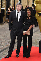 LONDON, UK. April 28, 2019: Charlie Brooker & Konnie Huq at the BAFTA Craft Awards 2019, The Brewery, London.<br /> Picture: Steve Vas/Featureflash