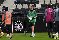 Toni Kroos (Deutschland Germany) - 18.11.2019: Deutschland Abschlusstraining, Commerzbank Arena Frankfurt, EM-Qualifikation DISCLAIMER: DFB regulations prohibit any use of photographs as image sequences and/or quasi-video.