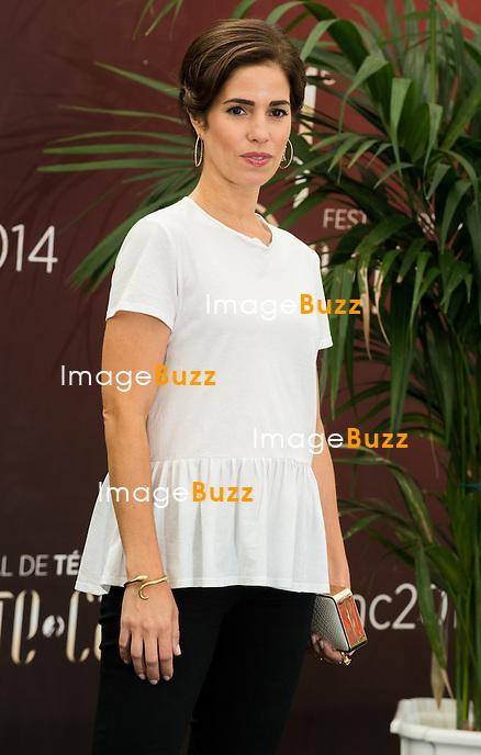 """Ana Ortiz """"Devious Maids"""" attends photocall at the Grimaldi Foruml on June 10, 2014 in Monte-Carlo, Monaco."""