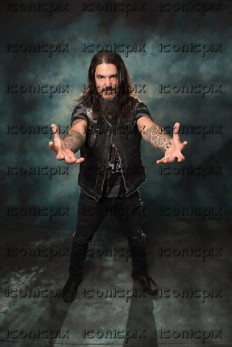 MACHINE HEAD - Robb Flynn - photosession in Paris France - 24 Oct <br /> 2017.  Photo credit:  Marc Villalonga/Dalle/IconicPix