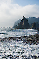 Rialto Beach, Olympic national park, Washington