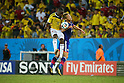 (L to R) <br /> Eder Balanta (COL), <br /> Keisuke Honda (JPN), <br /> JUNE 24, 2014 - Football /Soccer : <br /> 2014 FIFA World Cup Brazil <br /> Group Match -Group C- <br /> between Japan 1-4 Colombia <br /> at Arena Pantanal, Cuiaba, Brazil. <br /> (Photo by YUTAKA/AFLO SPORT)