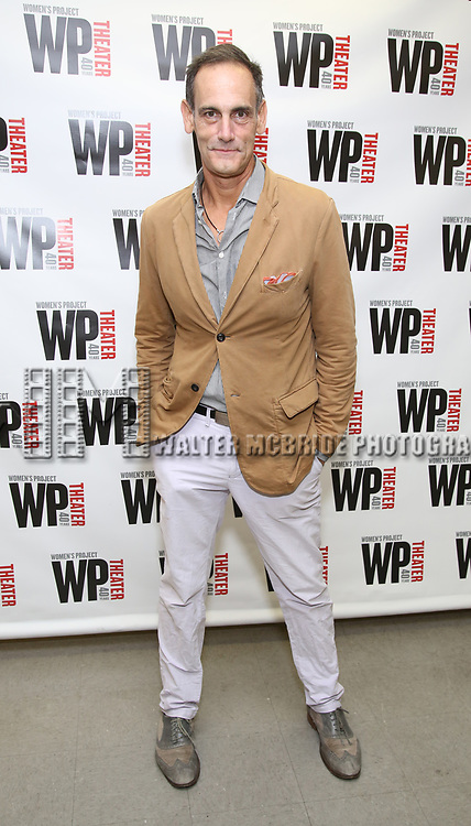 attends the WP Theater production of 'What We're Up Against' Photo Calll at WP Theater Office on October 5, 2017 in New York City.