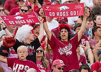 Hawgs Illustrated /BEN GOFF <br /> Arkansas vs North Texas Saturday, Sept. 15, 2018, at Razorback Stadium in Fayetteville.