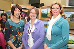 Kate Fitzpatrick, Marie Cassidy and Fiona McMahon Carty at the Art Exhibition in Scoil Aonghusa..(Photo credit should read Jenny Matthews www.newsfile.ie)....This Picture has been sent you under the conditions enclosed by:.Newsfile Ltd..The Studio,.Millmount Abbey,.Drogheda,.Co Meath..Ireland..Tel: +353(0)41-9871240.Fax: +353(0)41-9871260.GSM: +353(0)86-2500958.email: pictures@newsfile.ie.www.newsfile.ie.