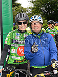 Fiona Price and Mick Hand who took part in the IMND 200k Cycle from Dunleer to Ballinasloe. Photo:Colin Bell/pressphotos.ie