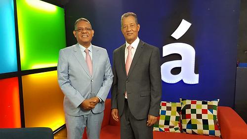 Gustavo Olivo Peña y Julián Roa.