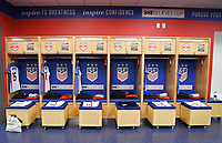 Harrison, N.J. - Sunday March 04, 2018: USWNT locker room USWNT locker room during a 2018 SheBelieves Cup match between the women's national teams of the United States (USA) and France (FRA) at Red Bull Arena.