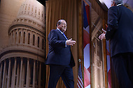 National Harbor, MD - March 7, 2014: Mike Huckabee, former governor of Arkansas, makes his way on stage to address the 2014 Conservative Political Action Conference held at National Harbor, MD, March 7, 2014.   (Photo by Don Baxter/Media Images International)