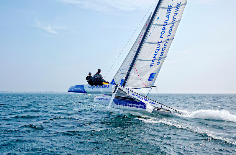 Dam 24 One Design, light, sporty, powerful, winged and designed to race with three or four people on board. The Diam 24OD is fast in light winds and confident in stronger breeze without the necessity for high level sporting prowess. The Diam 24 the new boat for the Tour de France à la Voile 2015.
