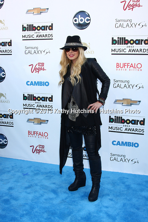 LOS ANGELES -  MAY 19:  Orianthi arrives at the Billboard Music Awards 2013 at the MGM Grand Garden Arena on May 19, 2013 in Las Vegas, NV